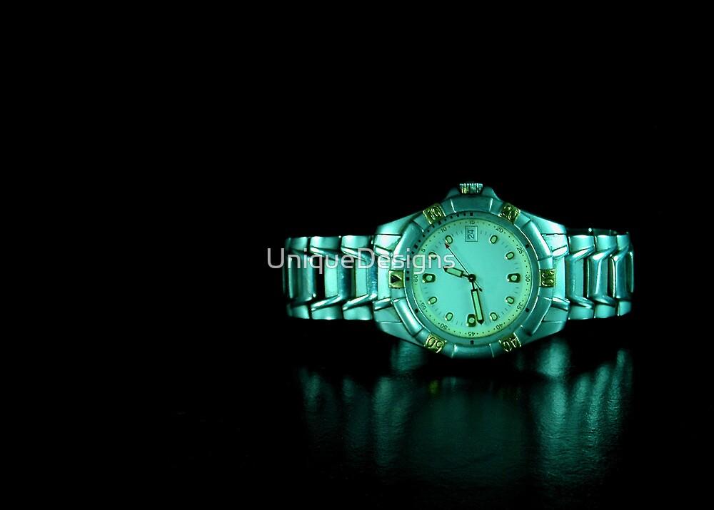 Quartz Wristwatch  by UniqueDesigns