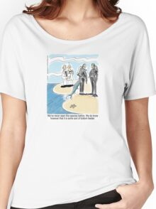 Bottom Feeder - marine biologists, scuba divers and a fish Women's Relaxed Fit T-Shirt