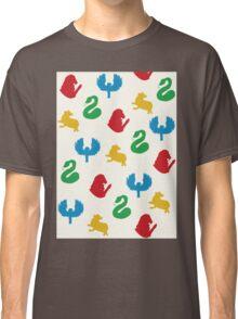 Hogwarts Symbols Classic T-Shirt