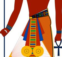 Pharaoh of Egypt | Egyptian Gods, Goddesses, and Deities Sticker