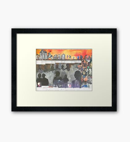 James Brown (A Tribute) Framed Print