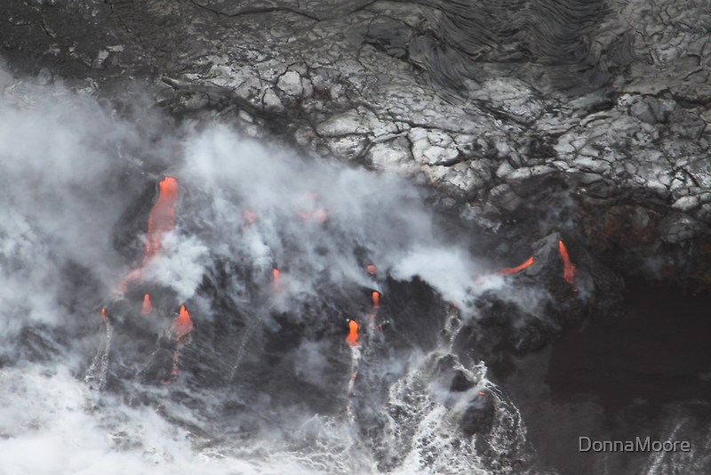 Volcano Helicopter tour in Hilo, Hawaii by DonnaMoore