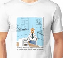 Just a Gopher - climb the corporate ladder? Unisex T-Shirt