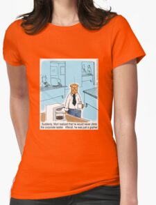 Just a Gopher - climb the corporate ladder? Womens Fitted T-Shirt