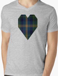 02828 Eildon (1996) Fashion Tartan  Mens V-Neck T-Shirt