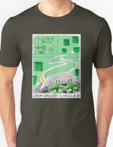 Crop Circles - Outer Space aliens can't make correct crop circles T-Shirt