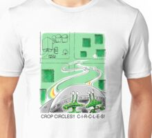 Crop Circles - Outer Space aliens can't make correct crop circles Unisex T-Shirt