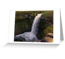 Minnehaha Falls Greeting Card