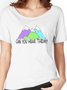 Can You Hear Them? Women's Relaxed Fit T-Shirt