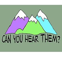 Can You Hear Them? Photographic Print