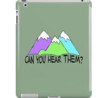 Can You Hear Them? iPad Case/Skin