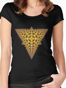 Pyramid Women's Fitted Scoop T-Shirt