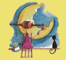 Painting the Moon Kids Tee