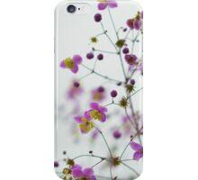 Decorative flowers iPhone Case/Skin