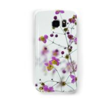 Decorative flowers Samsung Galaxy Case/Skin