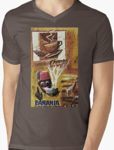 """Single ever seen """"Banania story"""" version 5 : My Creations Artistic Sculpture Relief fact Main 19  (c)(h) by Olao-Olavia / Okaio Créations Mens V-Neck T-Shirt"""