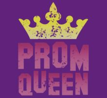 PROM queen with crown distressed version by jazzydevil