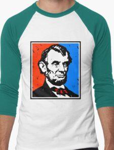 ABRAHAM LINCOLN-4 Men's Baseball ¾ T-Shirt