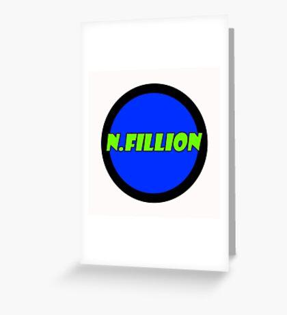 N.Fillion Greeting Card