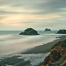 Back Beach, New Plymouth - NZ by Dean Mullin