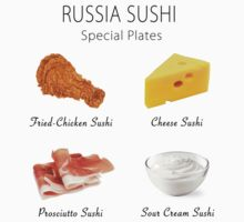 Russia Sushi's Special Plates by athee-fille