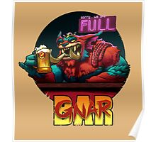 The Gnar Bar Poster