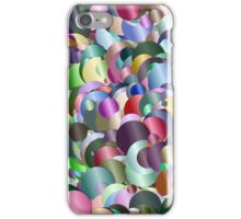 Colors abstract iPhone Case/Skin