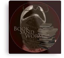 Book Sand Worm Metal Print