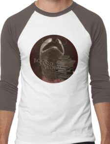 Book Sand Worm Men's Baseball ¾ T-Shirt