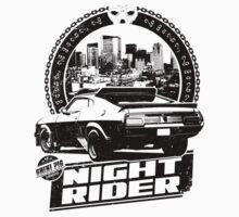 Night Rider (white) by ghinipig