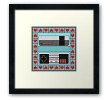 Video Game Lover : NES Framed Print