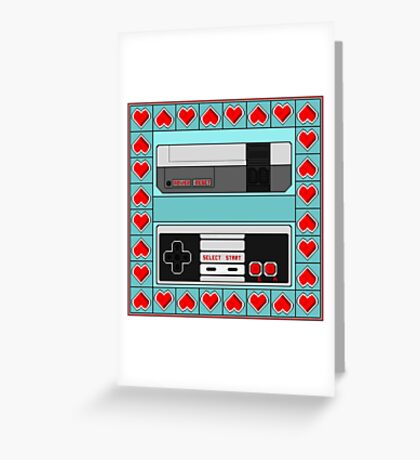 Video Game Lover : NES Greeting Card