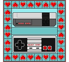 Video Game Lover : NES Photographic Print