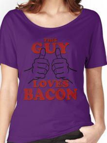 This Guy Loves Bacon Women's Relaxed Fit T-Shirt
