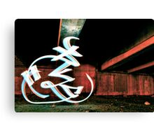 Shining Bisz Canvas Print