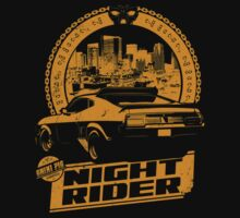 Night Rider (black) Kids Clothes