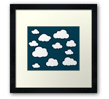 A Cloudy Day  Framed Print