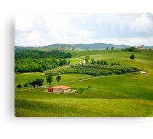 Roadways of Tuscany, Italy Canvas Print