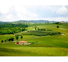 Roadways of Tuscany, Italy Photographic Print