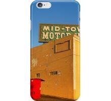 Mid-Town Motor Inn iPhone Case/Skin