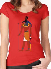 Set   Egyptian Gods, Goddesses, and Deities Women's Fitted Scoop T-Shirt