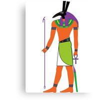 Set [FRESH Colors] | Egyptian Gods, Goddesses, and Deities Canvas Print