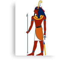 Shu Feather | Egyptian Gods, Goddesses, and Deities Canvas Print