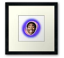 Childish Gambino (Starburst) Framed Print
