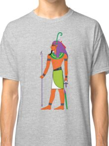 Shu Feather [FRESH Colors] | Egyptian Gods, Goddesses, and Deities Classic T-Shirt