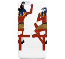 Souls of Pe and Nekhen | Egyptian Gods, Goddesses, and Deities iPhone Case/Skin