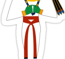 Osiris Version 2 | Egyptian Gods, Goddesses, and Deities Sticker