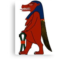 Taweret | Egyptian Gods, Goddesses, and Deities Canvas Print