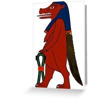 Taweret | Egyptian Gods, Goddesses, and Deities Greeting Card