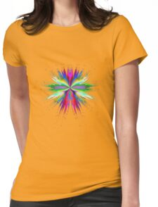 Splash of Paint Womens Fitted T-Shirt